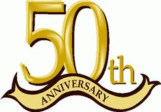 th birthday clip. Anniversary clipart 50 year