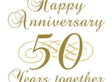Anniversary clipart 50 year. Clip art happy th