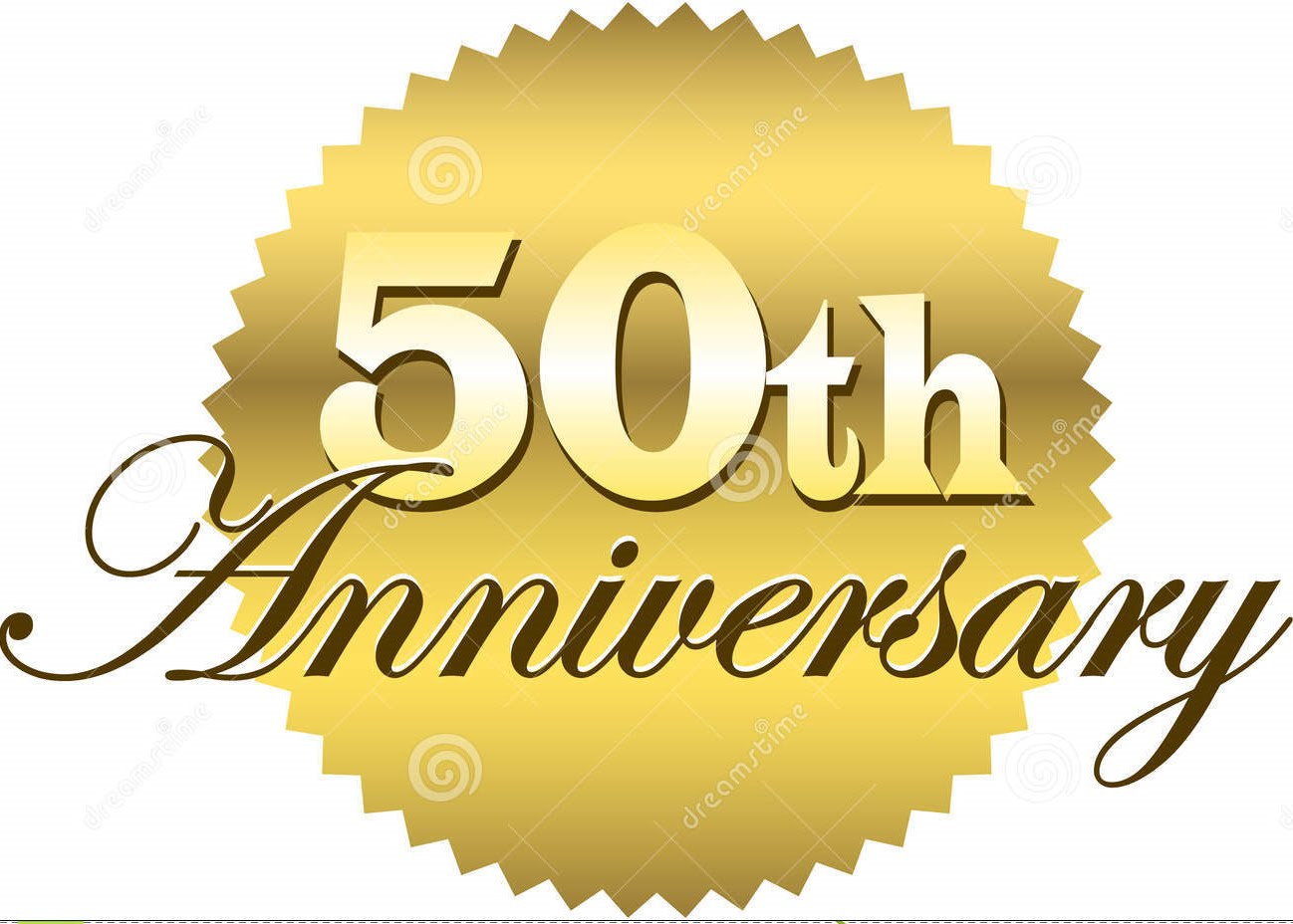 Anniversary clipart 50 year. Happy th mom dad