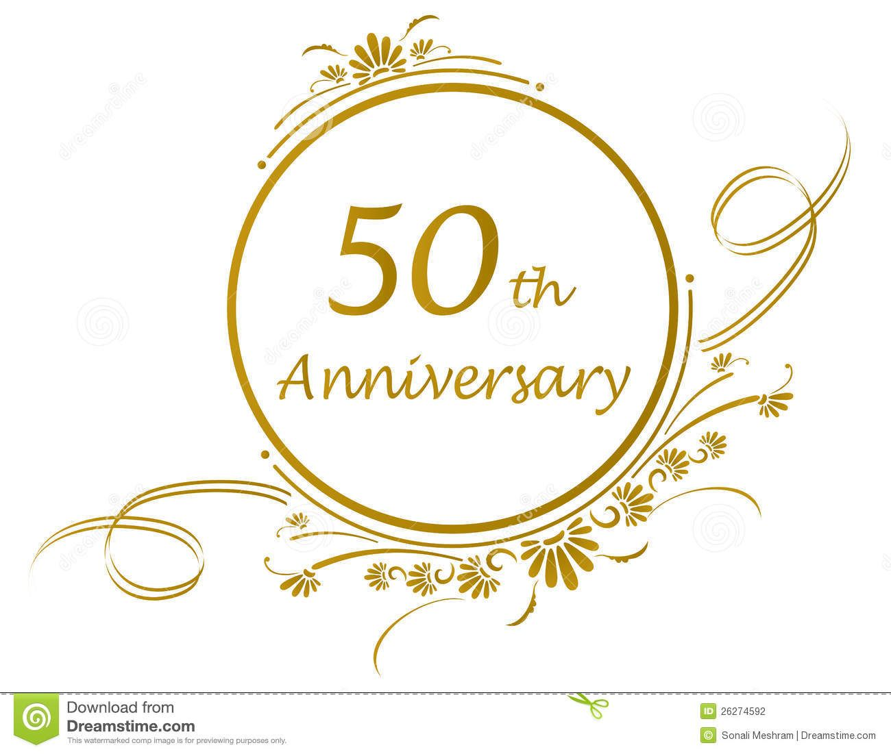 Anniversary clipart 50 year.  th design party