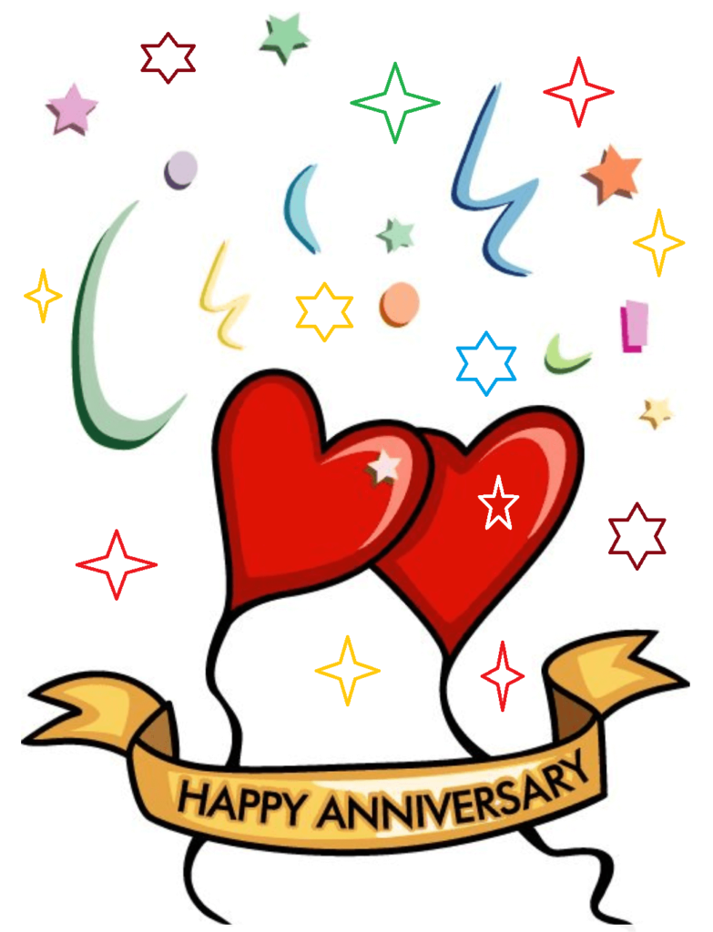 Happy marriage wishes best. Anniversary clipart