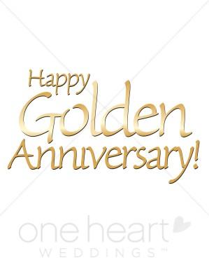 Anniversary clipart aniversary. Golden clip art wedding