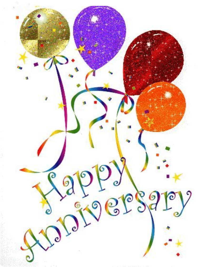 Happy marriage wishes best. Anniversary clipart april
