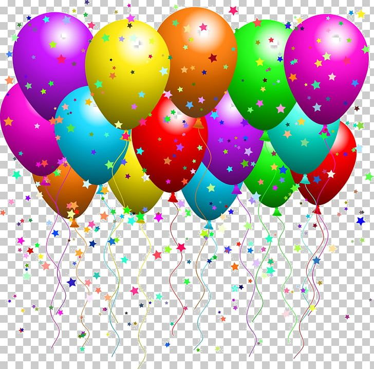 Party birthday png . Anniversary clipart balloon