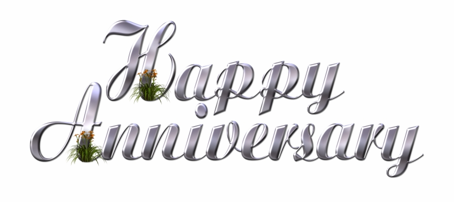 Anniversary clipart calligraphy. Wedding wish plant happy