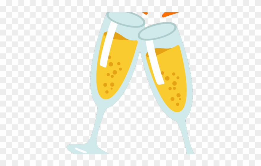 Anniversary clipart champagne flute. Happy new year