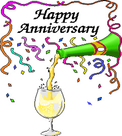 Happy custom vegetable and. Anniversary clipart champagne glass