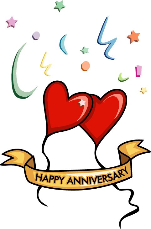 best happy images. Anniversary clipart cheer