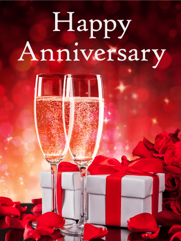 Cheers to the special. Anniversary clipart cheer