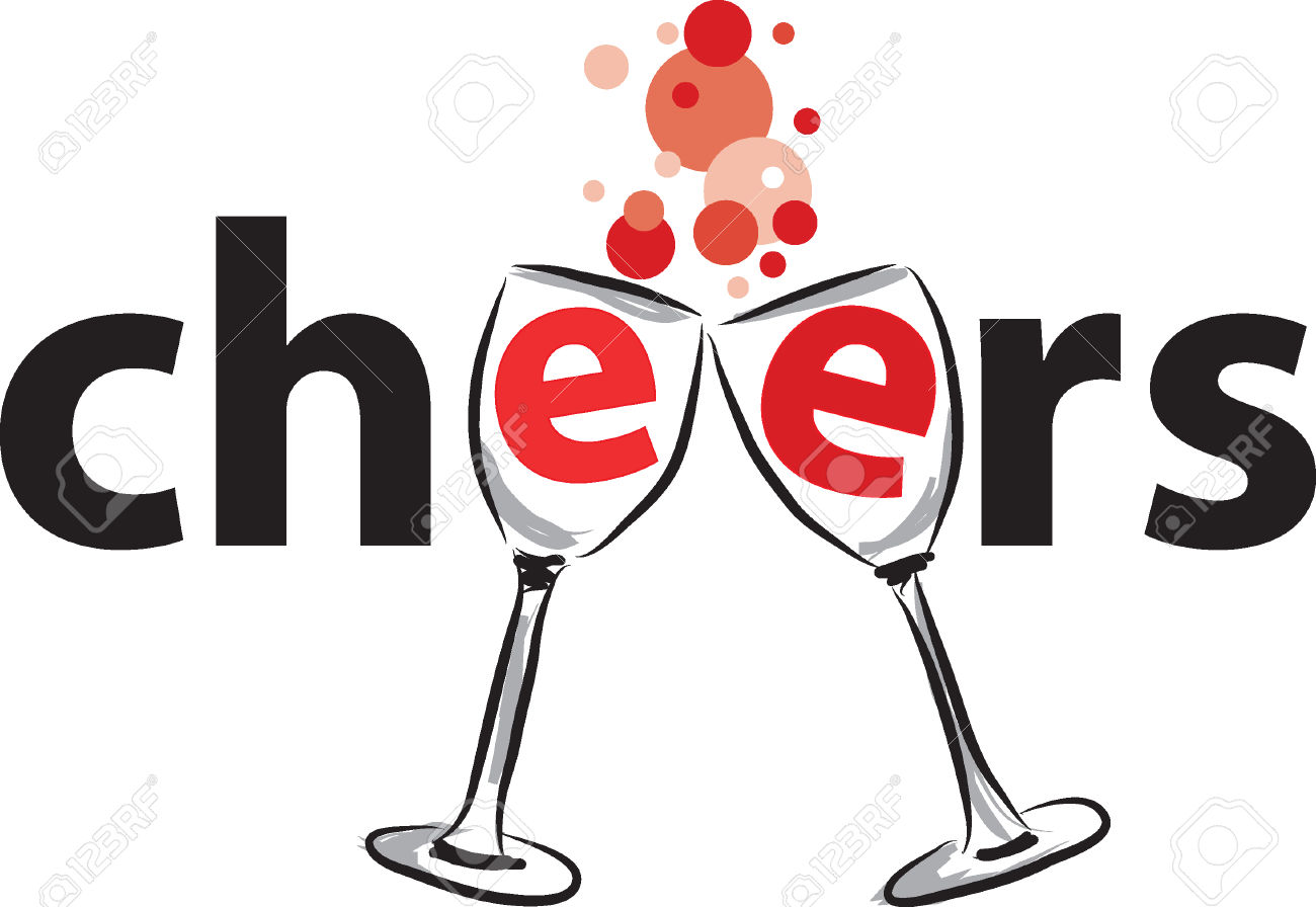 Collection of cheers free. Anniversary clipart cheer
