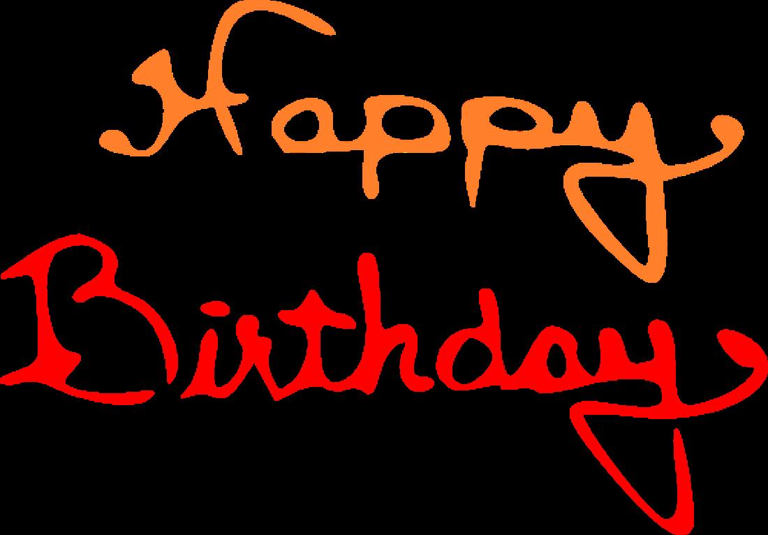 november clipart orange birthday