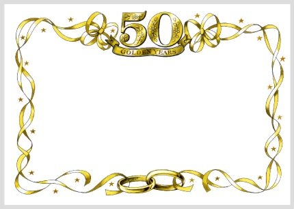 Anniversary clipart golden wedding.  th powerpoint ideas