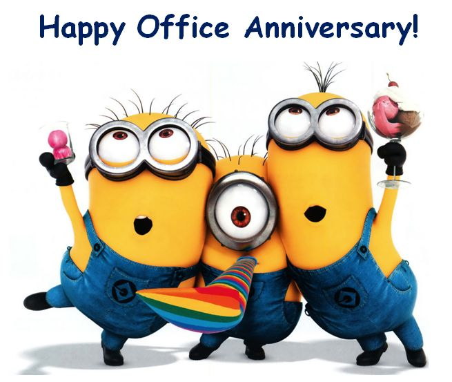 Happy office incep imagine. Anniversary clipart job