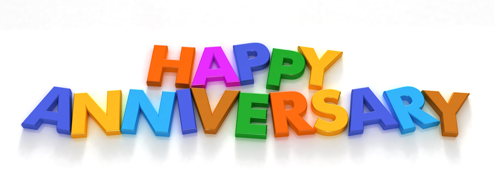 Anniversary clipart job. Second year website philwalter