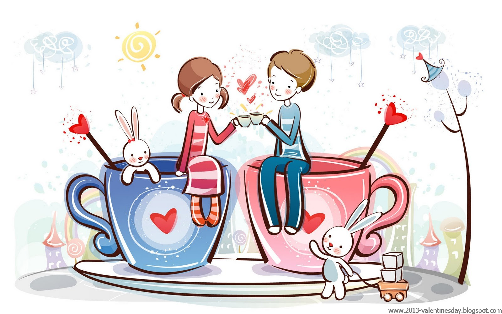 Anniversary clipart lovely couple. Free valentine cliparts download