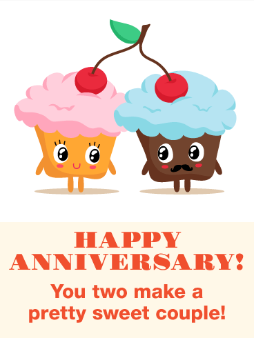 To the most wonderful. Anniversary clipart lovely couple