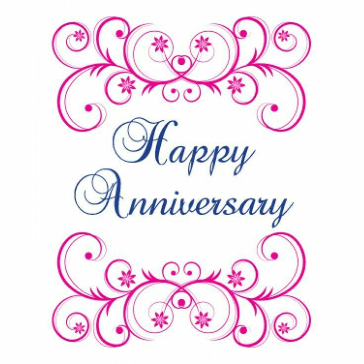 Anniversary clipart marriage anniversary.  best greetings images