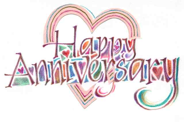 Anniversary clipart marriage anniversary. Wedding clip art free