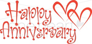 Happy wedding. Anniversary clipart marriage anniversary