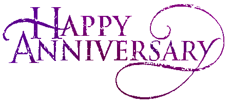 Anniversary clipart married. Happy to you both