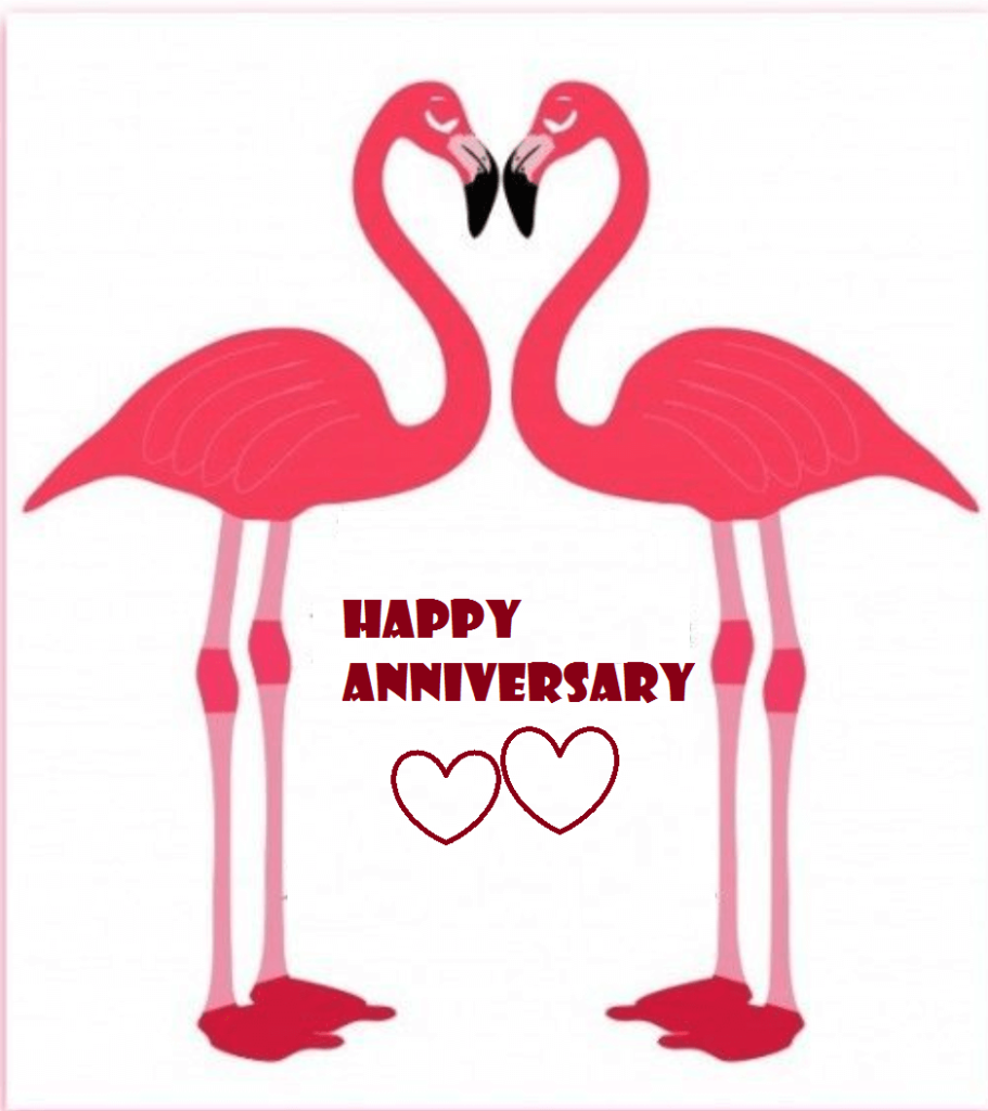 Happy marriage wishes best. Anniversary clipart married