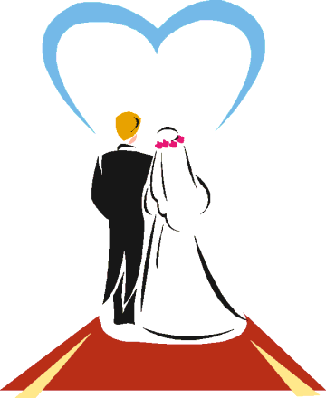 Marriage congratulations cliparts zone. Anniversary clipart married