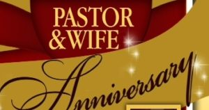 Anniversary clipart pastor. And wife mmb church