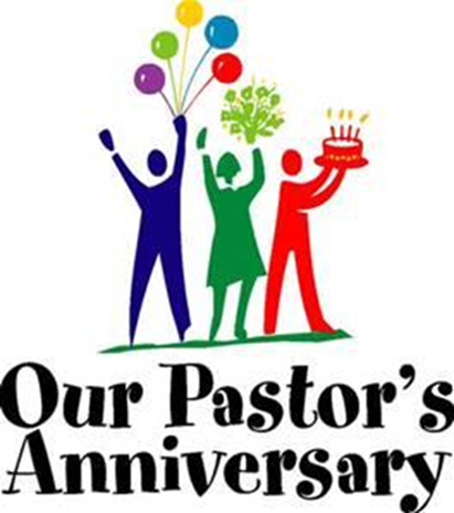 Anniversary clipart pastor. S luncheon springfield baptist