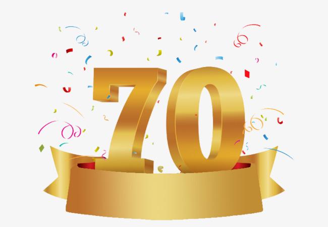 colored golden celebrate. Anniversary clipart ribbon