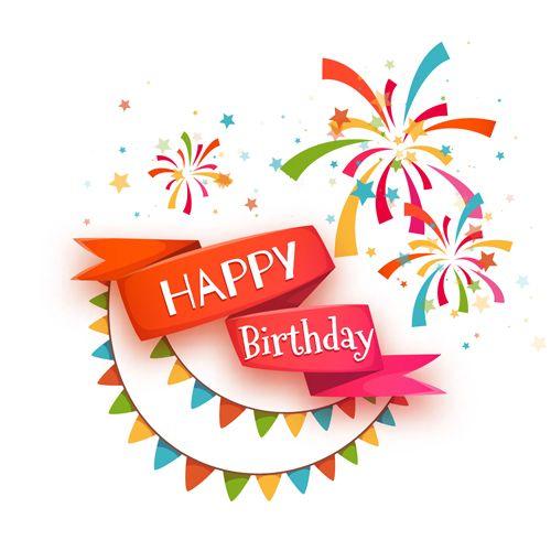 Anniversary clipart ribbon. Happy birthday images hd