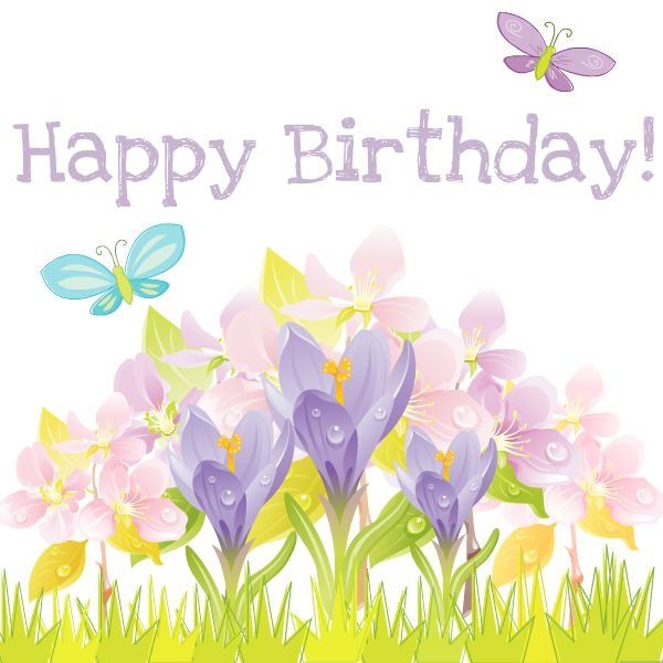 best birthday wishes. Anniversary clipart spring