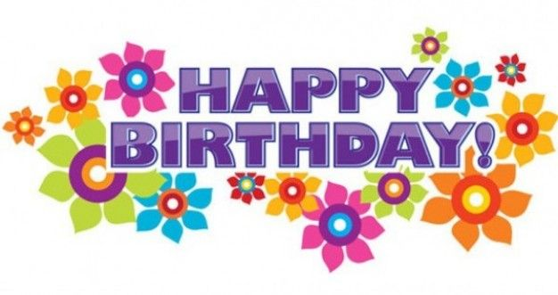 best happy birthday. Anniversary clipart spring