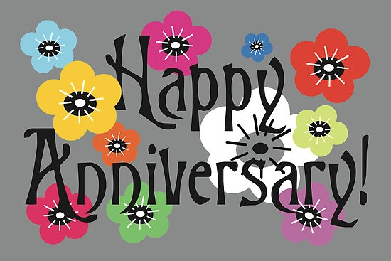 Anniversary clipart spring. Happy on anniversaries clipartpost
