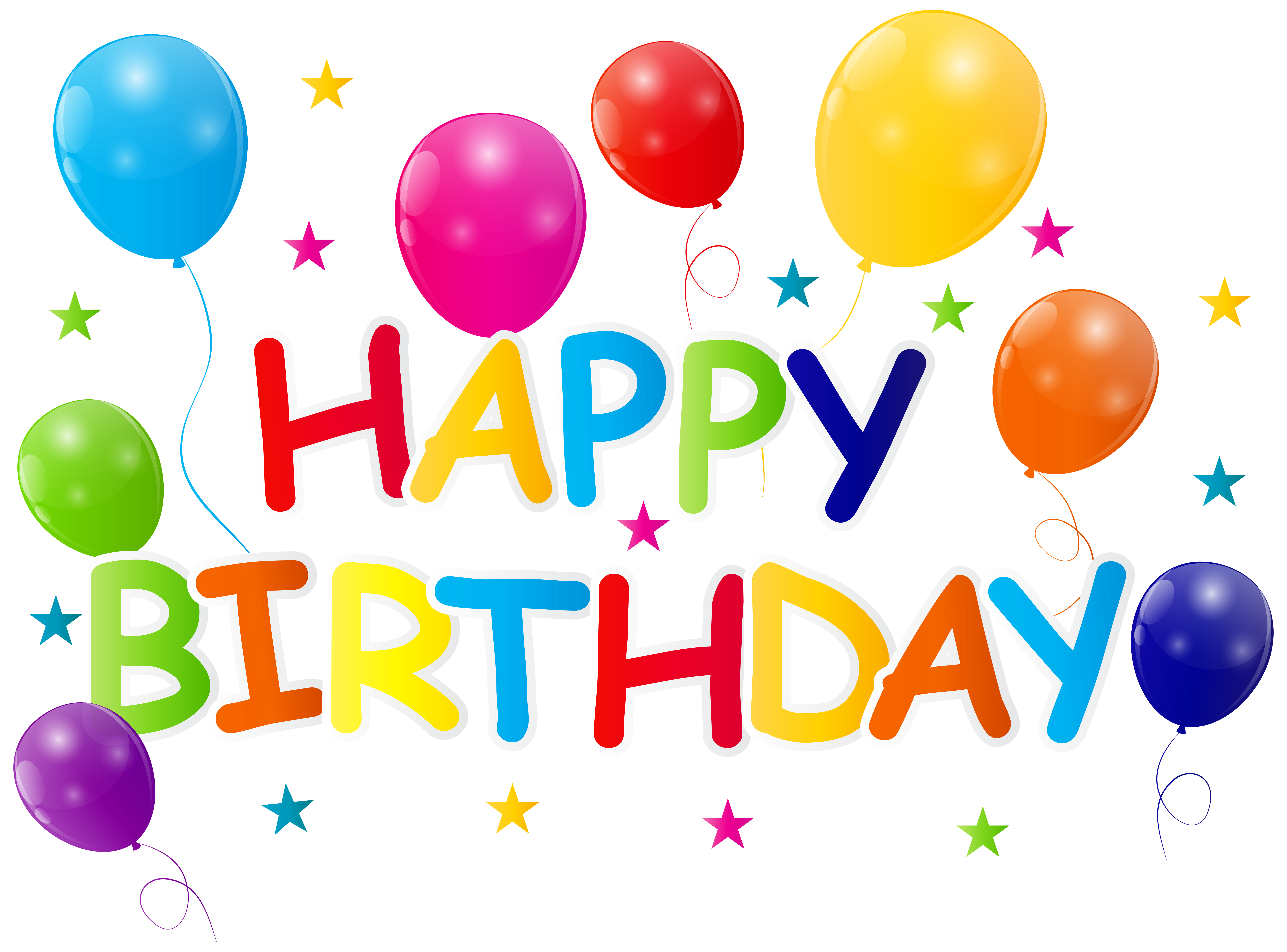 Happy birthday png . Anniversary clipart transparent background