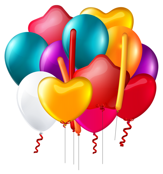Clipart balloon house. Balloons bunch transparent png