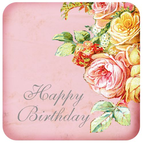 best happy birthday. Anniversary clipart vintage