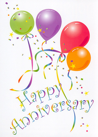Animated . Anniversary clipart work
