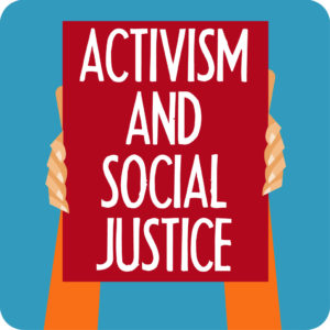 Announcement clipart activist. Activism and social justice