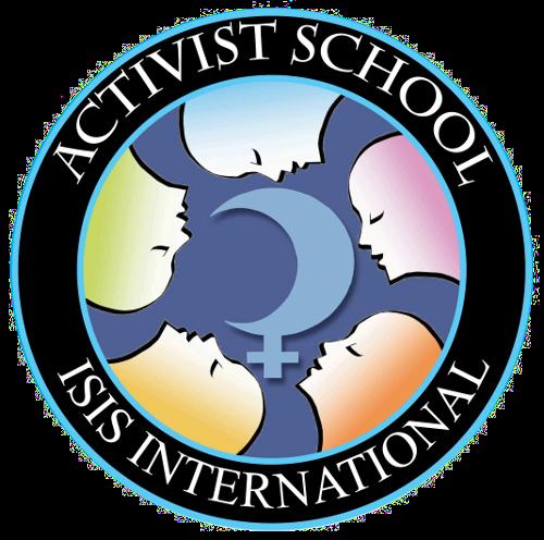 Isis international feminist school. Announcement clipart activist