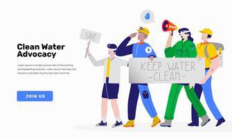 Free vector art downloads. Announcement clipart activist