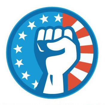 Philadelphia unions and organizations. Announcement clipart activist