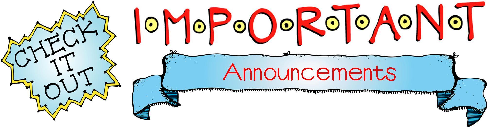 Announcement clipart annoucement. Images portal