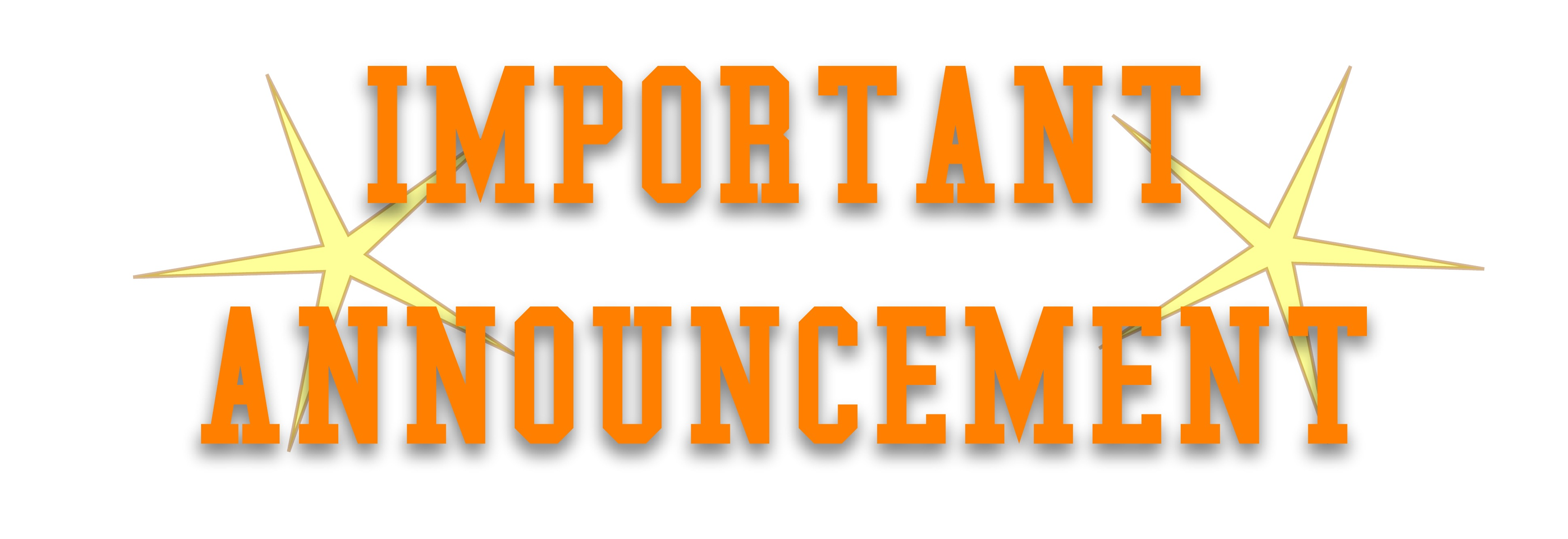 Announcement clipart announcement banner. Images of spacehero club