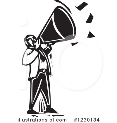 Announcement clipart anouncement. Illustration by xunantunich royaltyfree