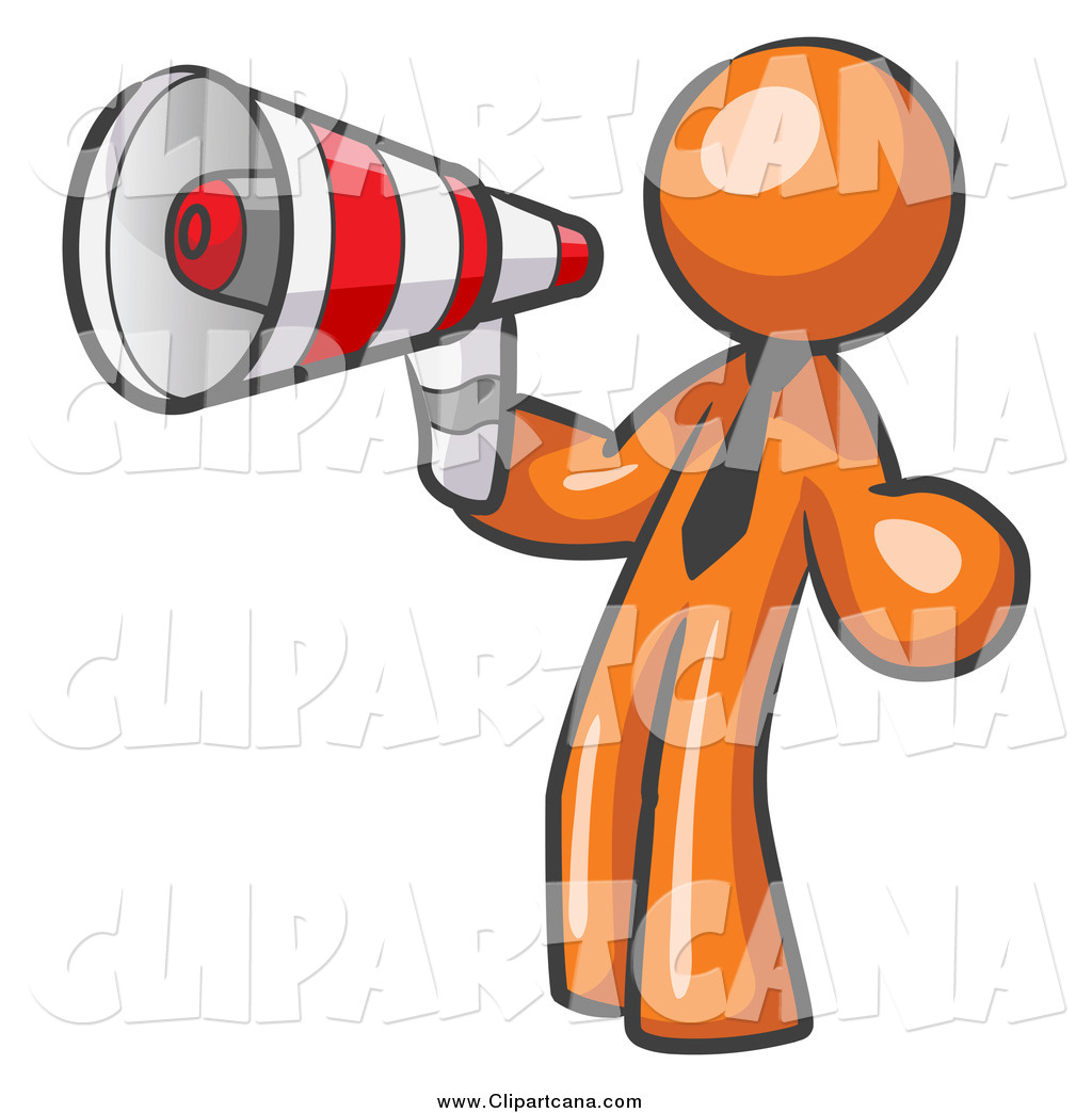 Announcement clipart attention. Clip art of a