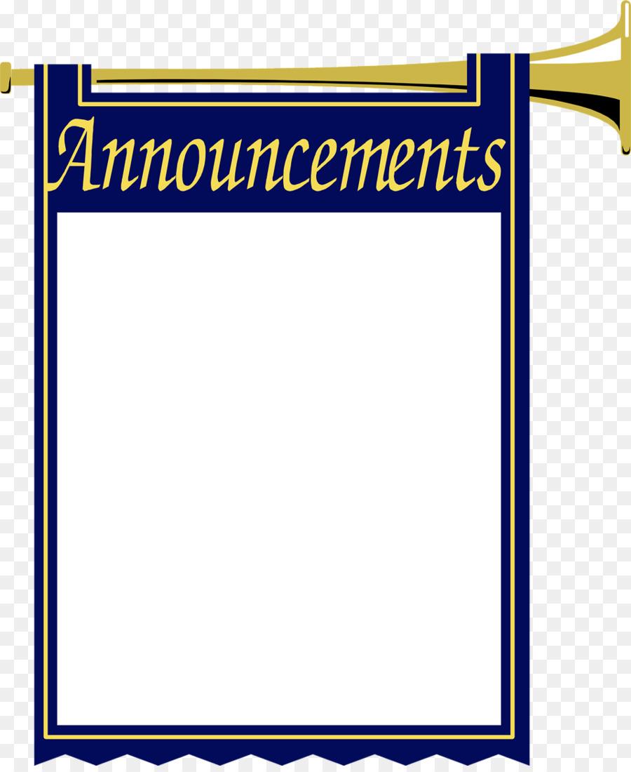 Blog clip art border. Announcements clipart announcement banner