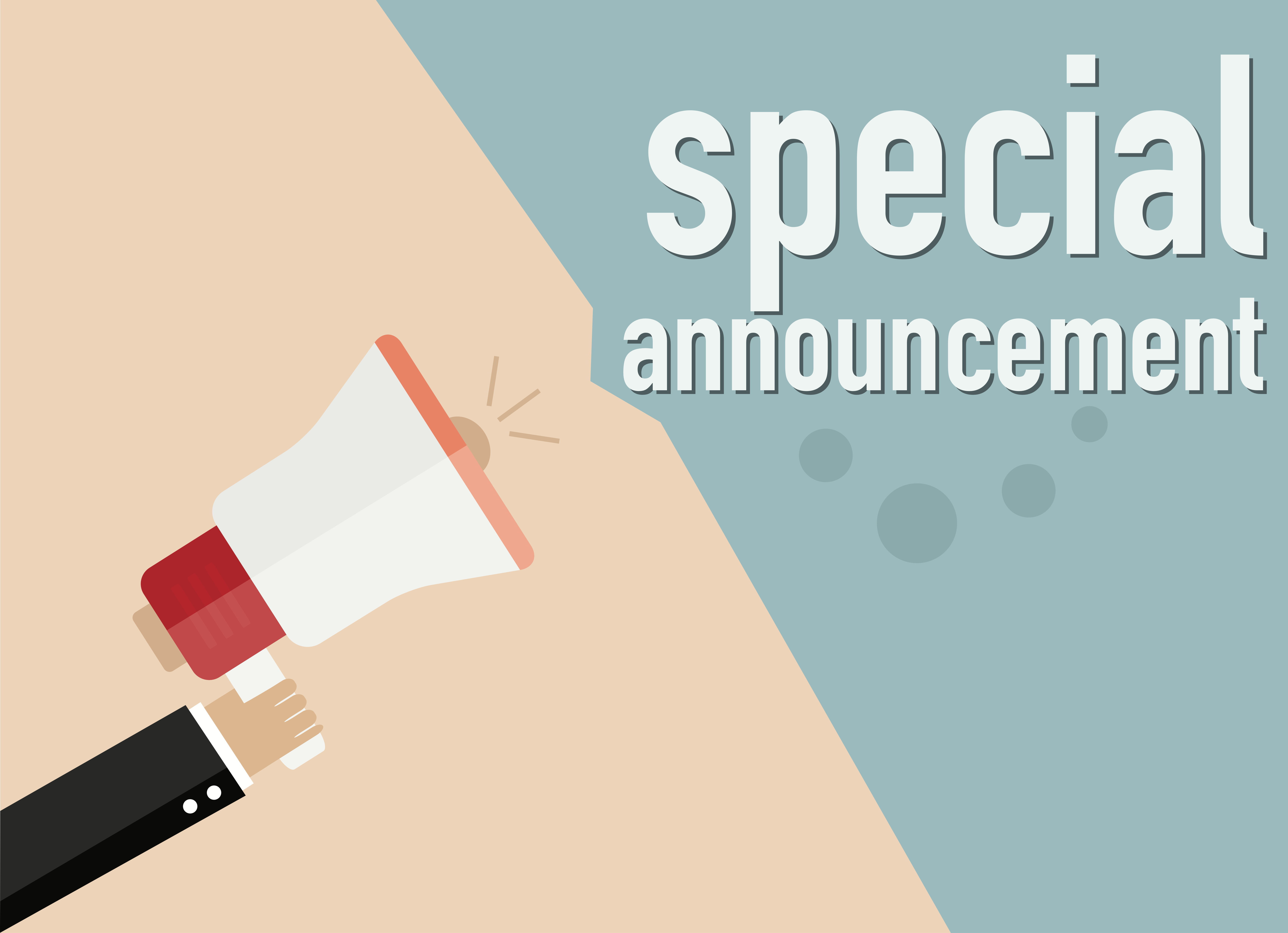 How to add a. Announcement clipart business announcement