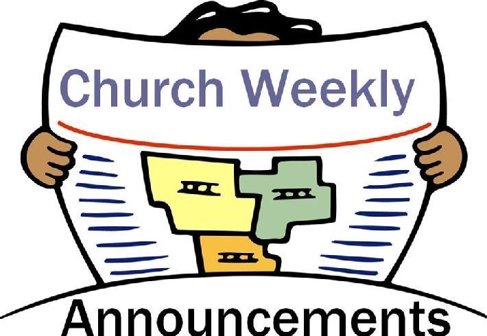 Announcement clipart church. Https momogicars com living