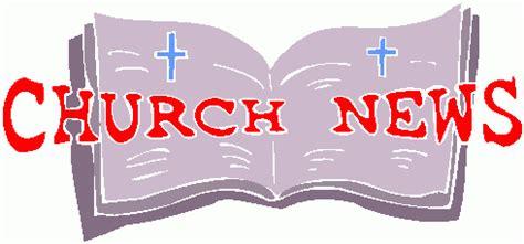 announcement clipart church