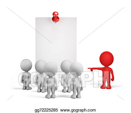 Stock illustration important gg. Announcement clipart group